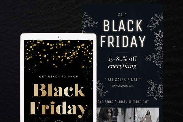 8 Black Friday Email Templates
