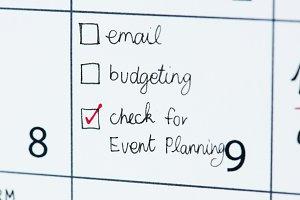 Events calendar reminder