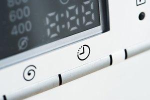 Closeup of microwave