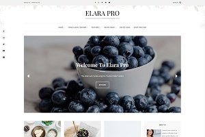 Elara - A Beautiful Food Blog Theme