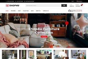 SM Shop4U - Magento 2 Theme