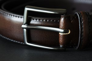 Closeup of belt