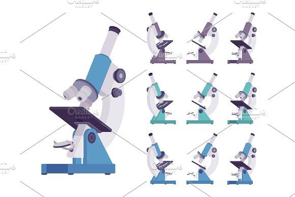 Microscope optical instrument set