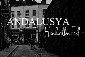 Andalusya Handwritten Font