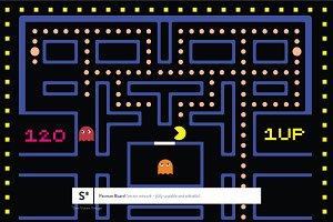 Retro Pacman Vector