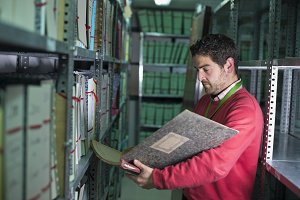 files stock clerk