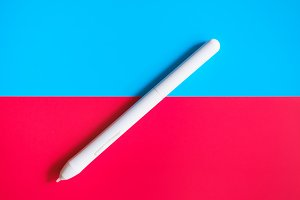 Concept. Graphics tablet stylus.