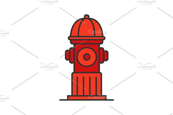 Hydrant Color Icon