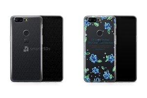 OnePlus 5T UV TPU Clear Case Design