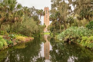 The Singing Tower in Lake Wales, Florida