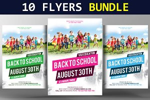 10 Business Flyers Bundle