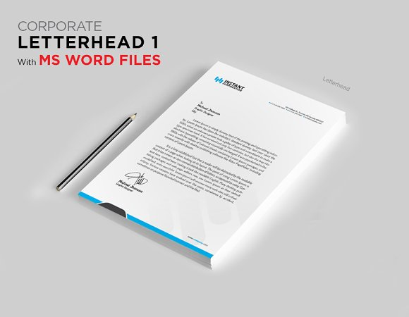 Letterhead 1 With MS Word File