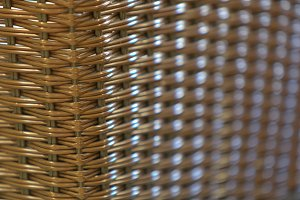 Rattan / Wicker seamless pattern
