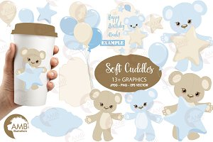 Baby boy Bear nursery AMB-1460