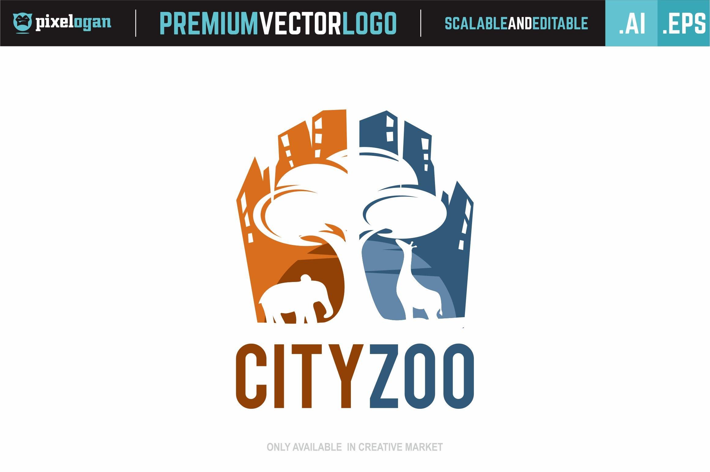 city zoo logo logo templates creative market