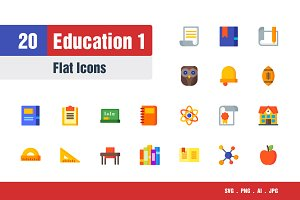 Education Icons #1