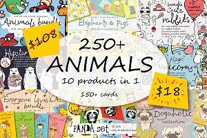250+ ANIMALS