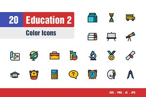 Education Icons #2