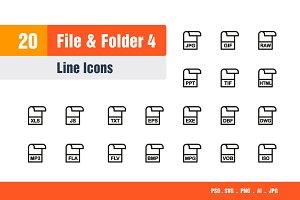 File & Folder Icons