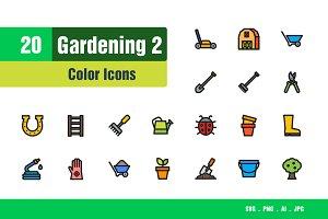 Gardening Icons #2