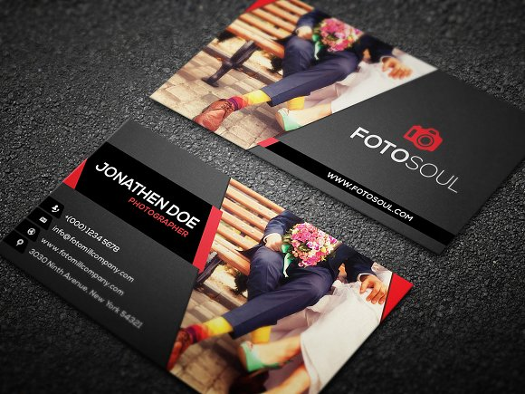 Photography Business Card Bundle Business Card Templates - Photography business card templates