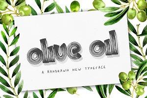 Olive Oil Font (ONLY $9)