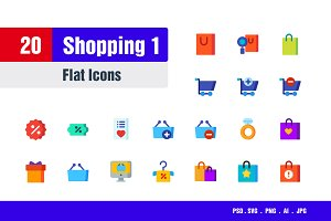 Shopping Icons #1