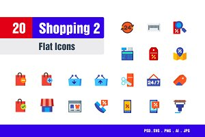 Shopping Icons #2