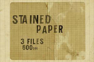Stained Paper Texture - 600dpi