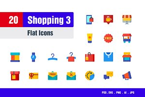 Shopping Icons #3