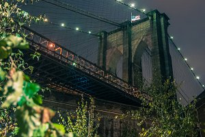 Dark Brooklyn Bridge