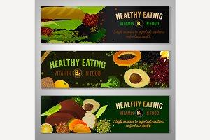 Vitamin B9 Banners