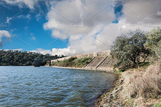 Cornalvo Roman reservoir, N. Park - Architecture