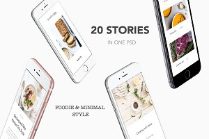 Instagram Stories Pack - Foodie