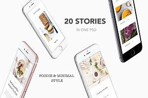 Instagram Stories Pack - Foodie