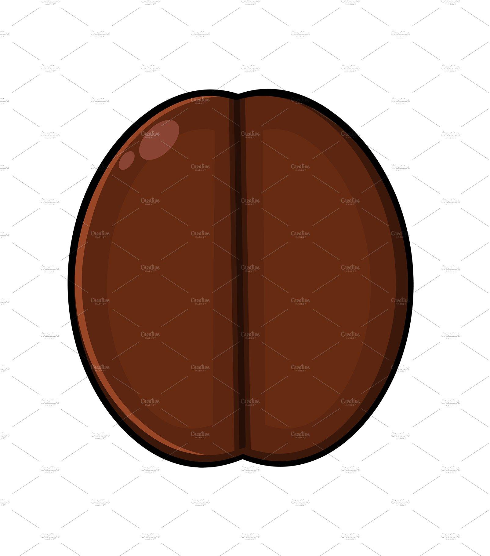 Roasted Coffee Bean Cartoon Pre Designed Photoshop Graphics Creative Market