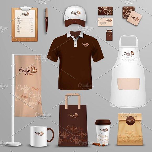 Restaurant Corporate Identity Icons