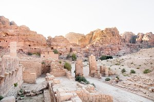 Ancient Petra City