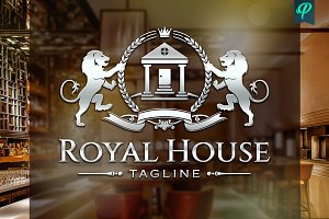 RoyalHouse - Real Estate Logo