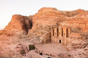 Ancient Petra Monastery