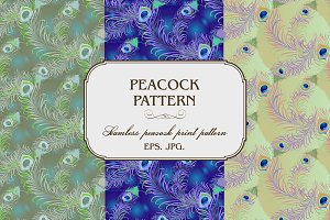 Pattern of peacock
