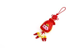 Chinese New Year Gift Bag and decora