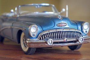1953 Buick Skylark Low Grille Angle