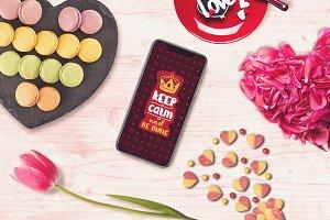 Valentine iPhone X Mock-up #1
