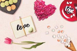 Valentine Note Mock-up #1