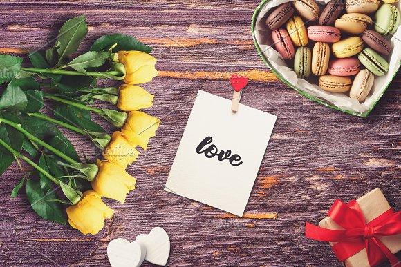 Valentine Greeting Card Mock-up #1