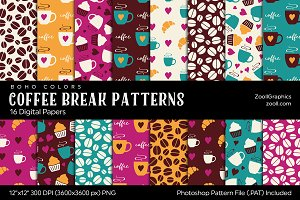 Coffee Break Digital Papers