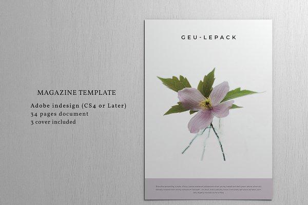 Magazine Templates - Magazine GEU-LEPACK Template
