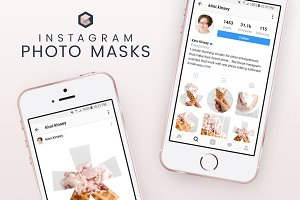 Instagram Photo Masks - Shapes