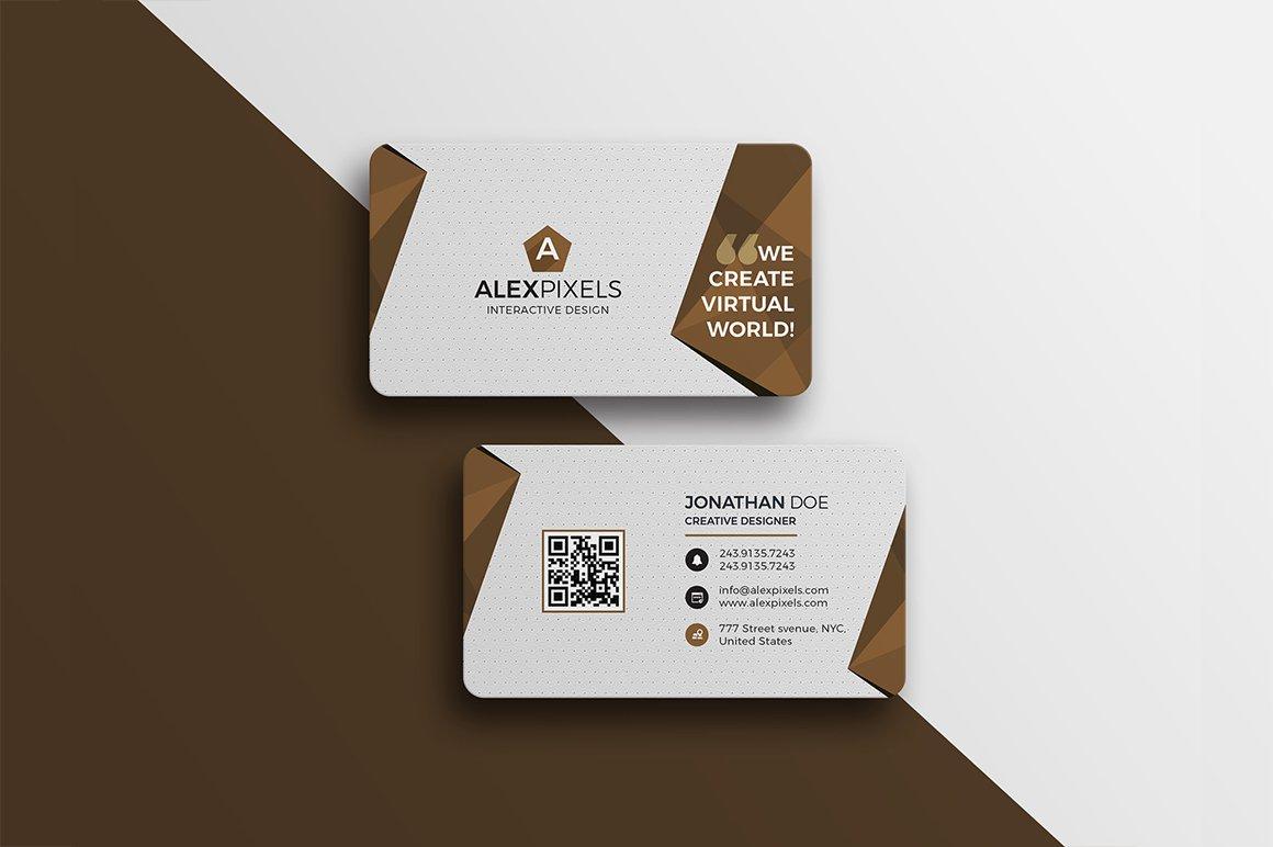 Corporate business card business card templates creative market colourmoves